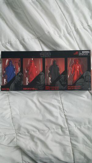 Star wars black series action figures for Sale in Matthews, NC