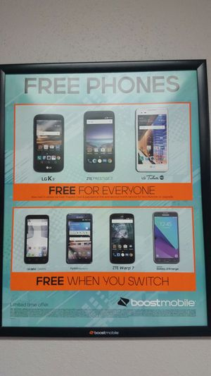 Free Samsung when you switch your # to Boost for Sale in Cleveland, OH