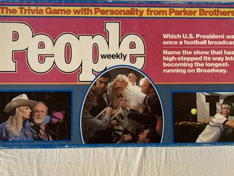Vintage People Trivia Board Game for Sale in Oakland,  CA