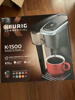 BRAND NEW Keurig K1500 (Top Model) w cups for Sale in Raleigh, NC