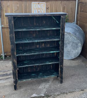 Old Barn Wood Shelf Cabinet for Sale in Bedford, TX