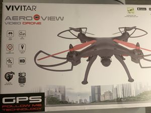 VIVITAR AERO VIEW DRONE with GPS FOLLOW ME for Sale in Fullerton, CA