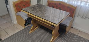 Dining table Breakfast Nook Marble Top Kitchen Island for Sale in Belmont, CA