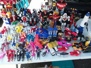 Big power rangers lot for Sale in Hawthorne, CA