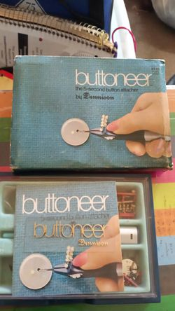 Buttoneer by dennison for Sale in Leland Grove,  IL