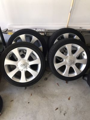 Wheels (Aluminum) & tires for Hyundai Elantra for Sale in Columbia, MD