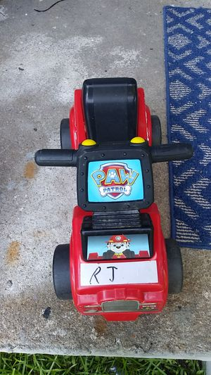 Kids paw patrol truck with sounds for Sale in Atlanta, GA
