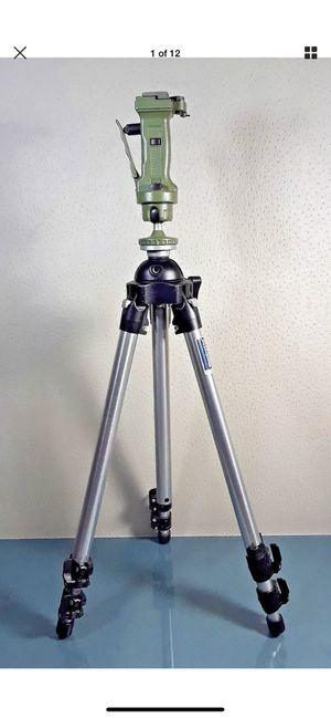 Manfrotto 3401 Tripod with Manfrotto 3265 Grip Action Joy Stick #689 for Sale in Costa Mesa, CA