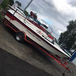 1991 American ski Boat, Indmar 5.7 velvet drive must see!!! for Sale in Portland,  OR