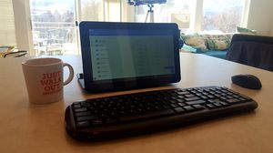 11.6 Inch Tablet 32GB 1.3GHz Quad Core W/ Detachable Keyboard for Sale in Chelan, WA