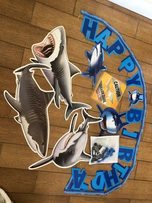 Shark party decorations for Sale in Davie, FL