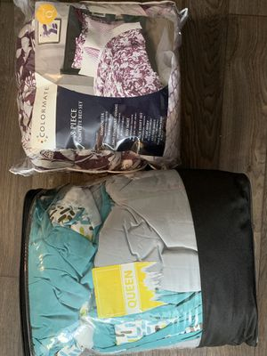 2 Queen size 8 complete bed set!!! Cheap!! for Sale in Irving, TX