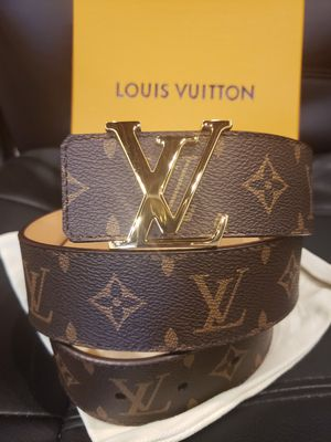 😎NWT Louis Vuitton Brown Monogram Belt for Sale in Queens, NY