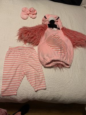 Baby flamingo costume for Sale in Norwalk, CA