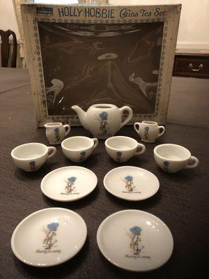 Vintage Holly Hobbie Tea Set for Sale in Sully Station, VA