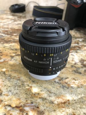 Nikon D70 Camera with 50 mm and 18-70mm Nikon lenses for Sale in Plano, TX