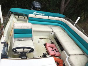 Hurricane deck boat for Sale in New Port Richey, FL