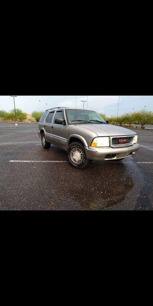 Gold 4X4 1999 GMC Jimmy Blazer s10. Low miles!-$2600 for Sale in Phoenix, AZ
