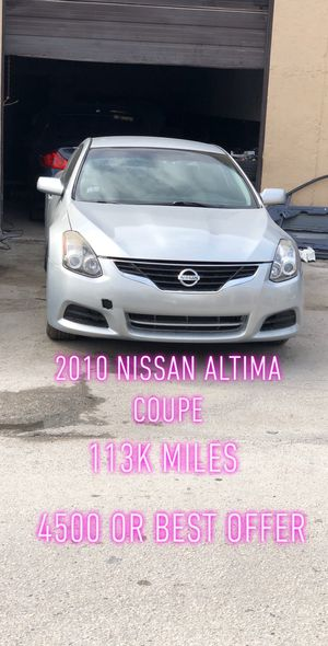 2010 Nissan Altima Coupe For Sell for Sale in St. Petersburg, FL