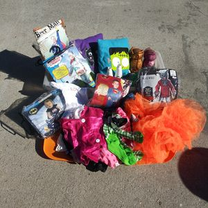 Halloween Costumes And Decor for Sale in Colton, CA