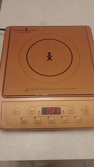 Copper chef induction cooktop for Sale in New York, NY