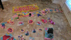 """Trolls """" POPPY"""" Party Decorations, Toy Story, Mickey Mouse & Some Gender reveal party Decorations. for Sale in Charlotte, NC"""