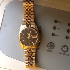Gold Seiko Watch for Sale in Aspen Hill, MD