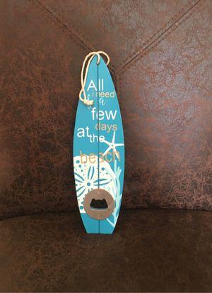 Beach/surf board bottle opener for Sale in Stafford Township, NJ