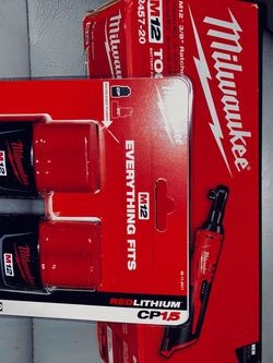 Milwaukee M12 3/8 in. Ratchet + M12 Compact Battery Pack 1.5Ah (2-Pack) for Sale in Vienna,  VA