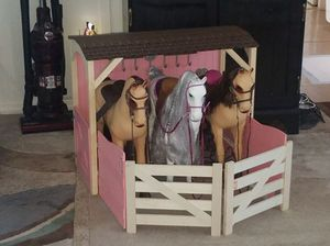 Our Generation Toy Stable Plus 3 20 inch Battat Horse Doll Girl Play House Kid Toys for Sale in Tampa, FL