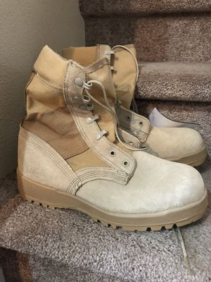 Military Boots DMS HW size 7.5W for Sale in Tacoma, WA