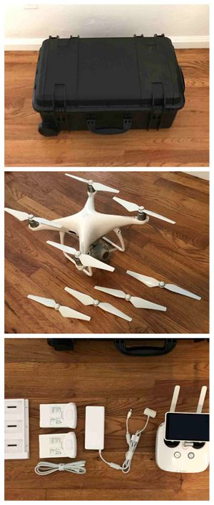 """-💗💗DRONE BRAND NEW DJI Phantom 4 Pro Plus Camera Drone with 5.5"""" Display - White💗 for Sale in Chicago, IL"""