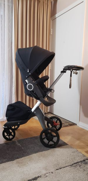Stokke Stroller & Carry cot & Car seat & Diaper bag-$1000(CHICAGO) for Sale in Chicago, IL