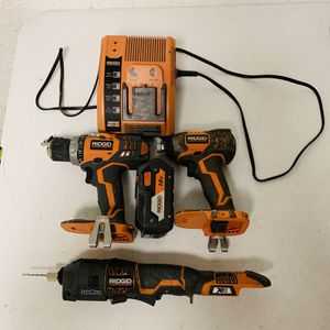 Ridgid Impact Drill And Multi Tool for Sale in Houston, TX