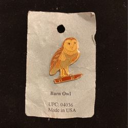 Vintage Barn Owl Pin-made In NM -signed- Good Quality - New- #artssoflo for Sale in Miami,  FL