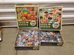 Puzzles and Games Bundle for Sale in Hesperia, CA