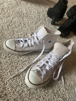 Converse high top shoes for Sale in Raleigh, NC