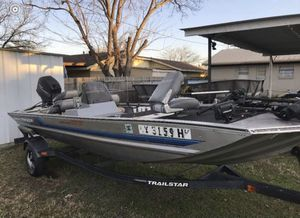 Bass tracker 1995 16ft boat for Sale in Burleson, TX