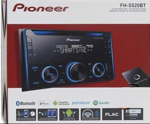 New Pioneer FH-S520BT 2-DIN CD Receiver with Improved Pioneer Smart Sync App Compatibility, MIXTRAX, Built-in Bluetooth for Sale in Gardena, CA