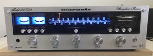 Marantz 2230b receiver. New cool blue LED Lights. Almost minty for Sale in Fullerton, CA