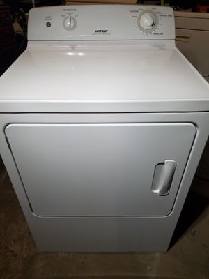 HOTPOINT EXTRA LARGE CAPACITY 220 ELECTRIC DRYER for Sale in Waterbury, CT