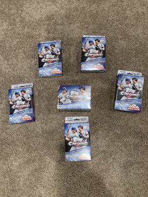 2020 Topps Chrome Baseball Cards - Hangers & Blaster for Sale in Cherry Hill, NJ