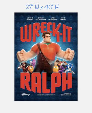Wreck-It Ralph — Poster for Sale in Artesia, CA