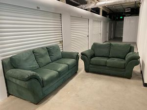 Sofa Bed and Loveseat / Couch - Delivery Negotiable for Sale in Pompano Beach, FL