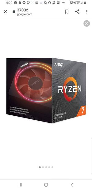 Ryzen 3700x AMD processor for sale for Sale in Richlands, NC