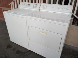 Washer and gas dryer working perfectly$365 for Sale in Paramount, CA