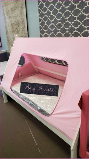 Twin Size Tent Bed with Mattress for Sale in Glendale, AZ