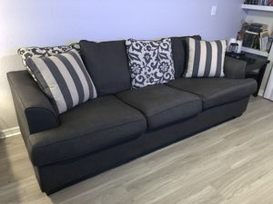 Couch with pillows for Sale in Tampa, FL