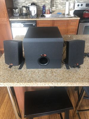 Klipsch THX Speakers w/ IPhone converter for Sale in Chicago, IL