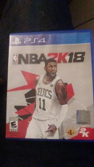 PS4 NBA 2K18 for Sale in Glendale, AZ